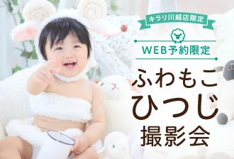 【キラリ川越限定】ふわもこひつじ撮影会開催!